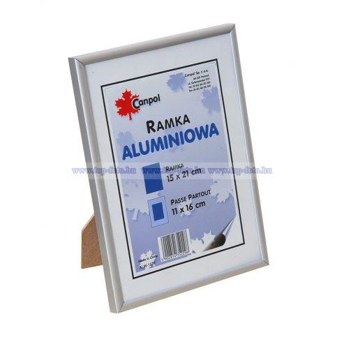 Alumínium képkeret 15x21 cm