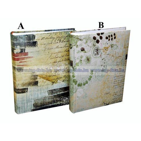 Bedugós memós könyvkötéssel varrott oldalak 10x15 cm/200 db