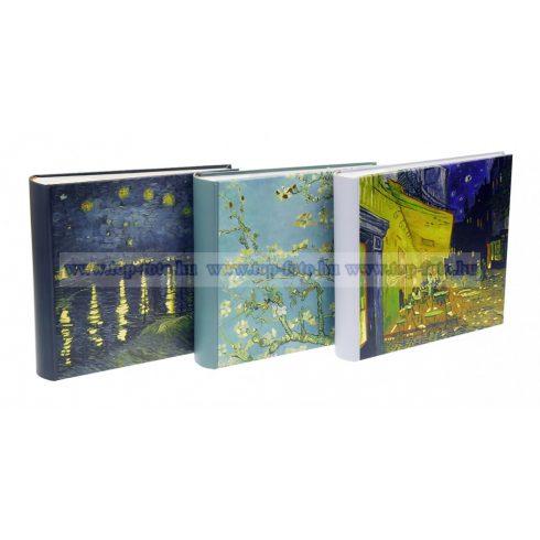 Bedugós bőrhatású melléírhatós fotóalbum 10x15 cm/200 db