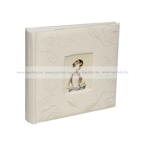 Bőrhatású bedugós esküvői fotóalbum 10x15 cm/293 db