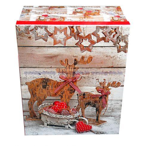 Karácsonyi ajándékdoboz szett 10 db/ szett