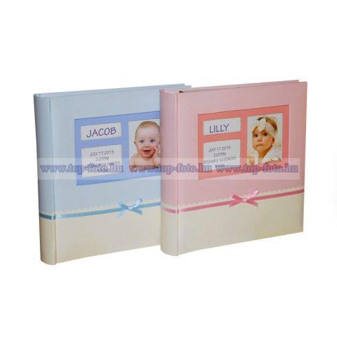 Baby bedugós melléírhatós fotóalbum 10x15 cm/200 db