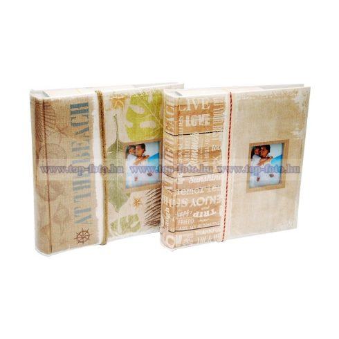 Bedugós fotóalbum melléírhatós 10x15 cm/200 db