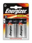 Energizer MAX alkáli góliát elem (D) 2 db/blister
