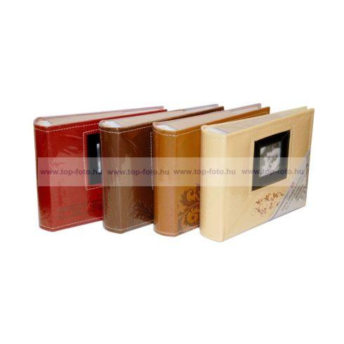 Bedugós bőrhatású fotóalbum 10x15 cm/100 db